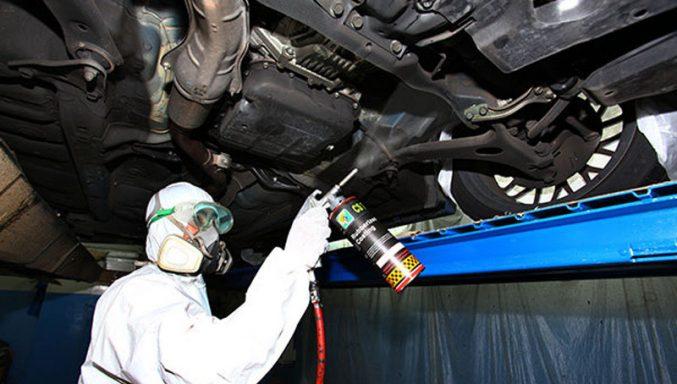 automobilio antikorozinis padengimas dinitrol